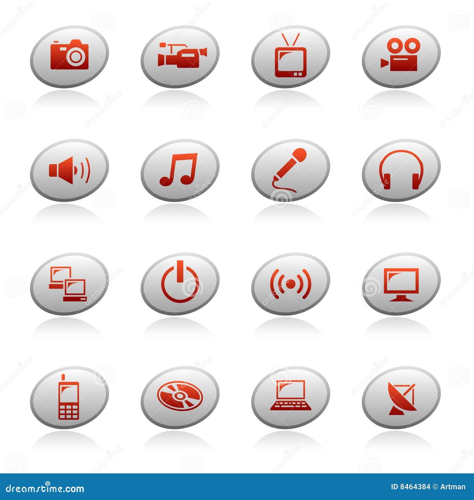 Rengöringsduk för 4 knappellipssymboler