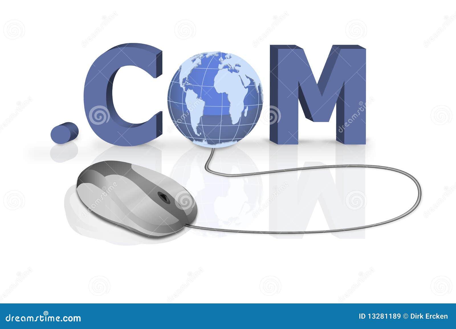 Rengöringsduk för internet för http för adresscom-anslutning