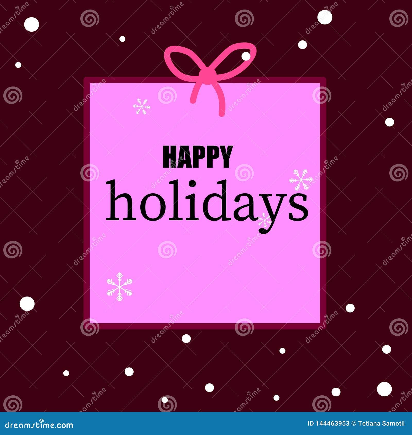 Rengöringsduk Högvärdig lyxig julbakgrund för feriehälsningkort E