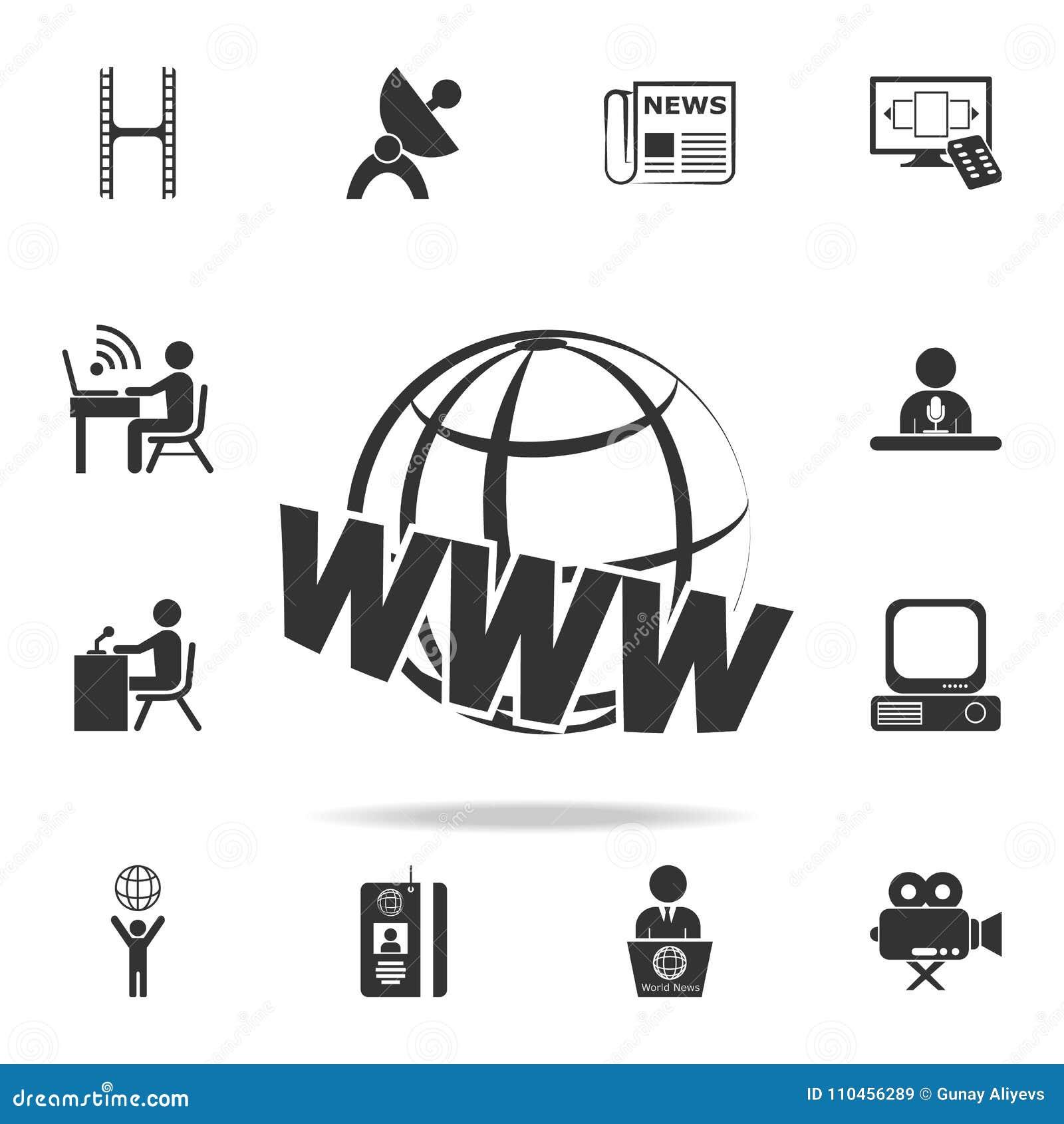 Rengöringsdukjordsymbol Detaljerade uppsättningsymboler av massmediabeståndsdelsymbolen Högvärdig kvalitets- grafisk design En av