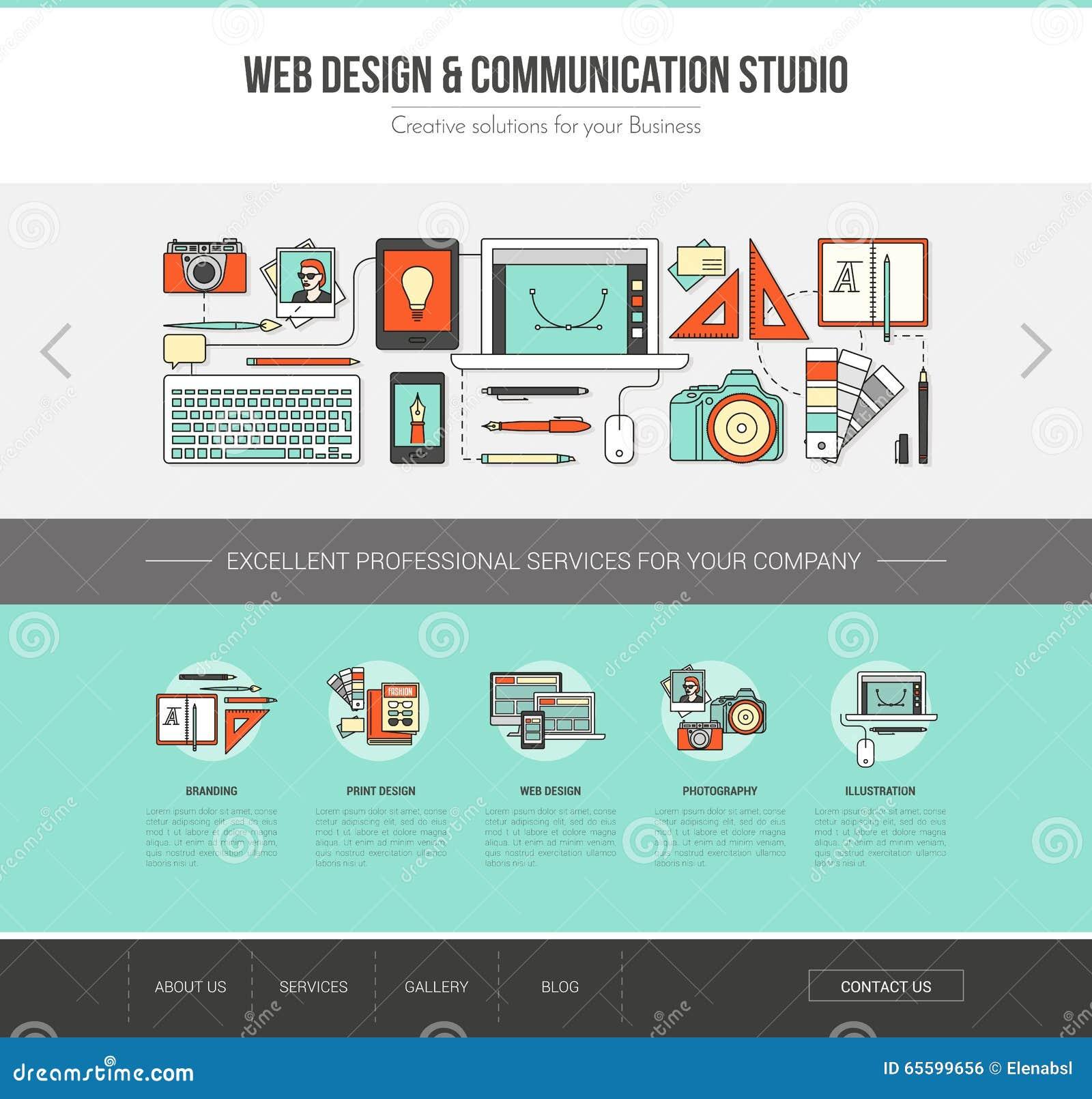 Rengöringsdukmall för grafisk formgivare