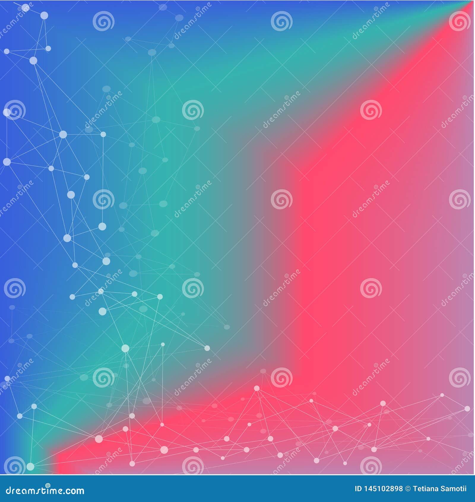 Reng?ringsduk Den abstrakta vektorbakgrundsmodellen, moderna trianglar smyckar