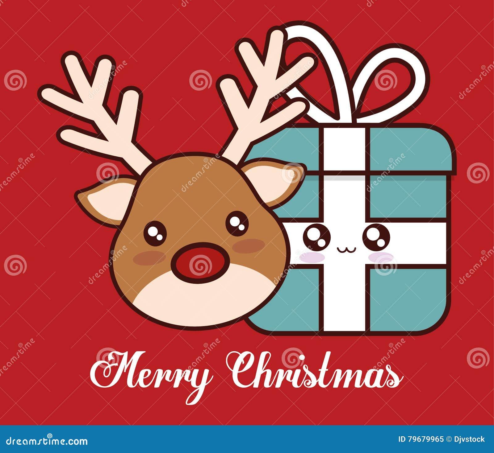 Immagini Natale Kawaii
