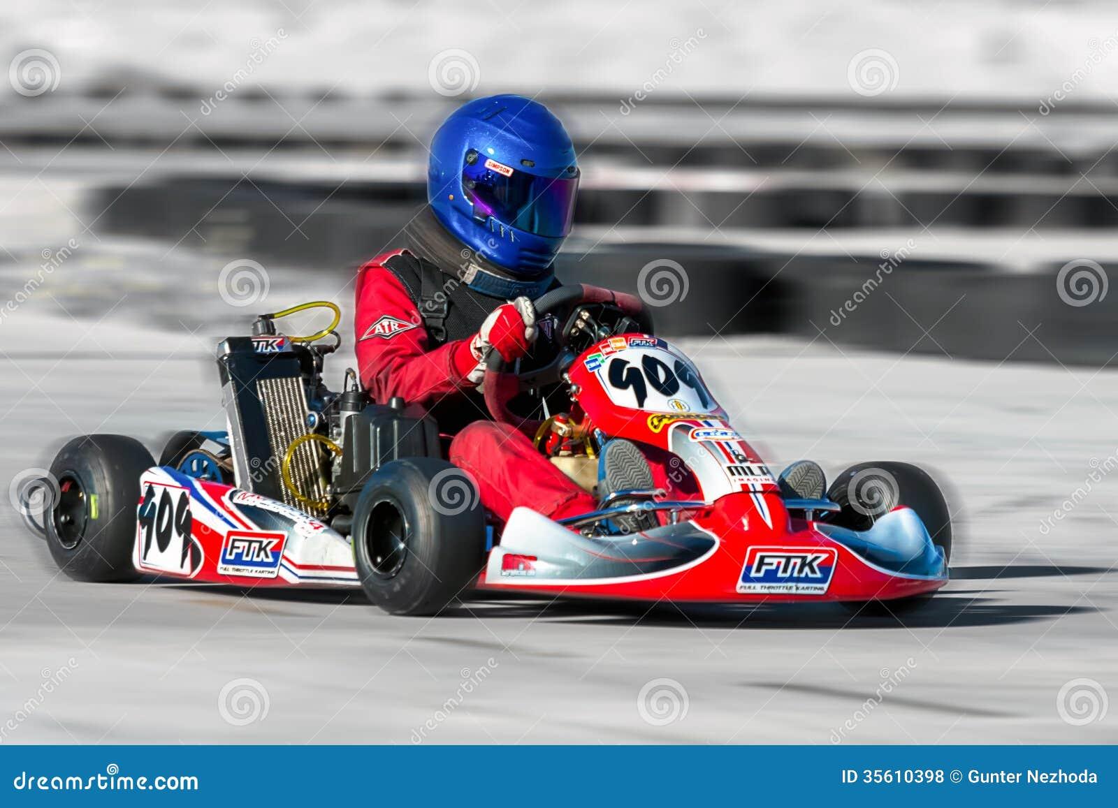 Rennend Go-kart