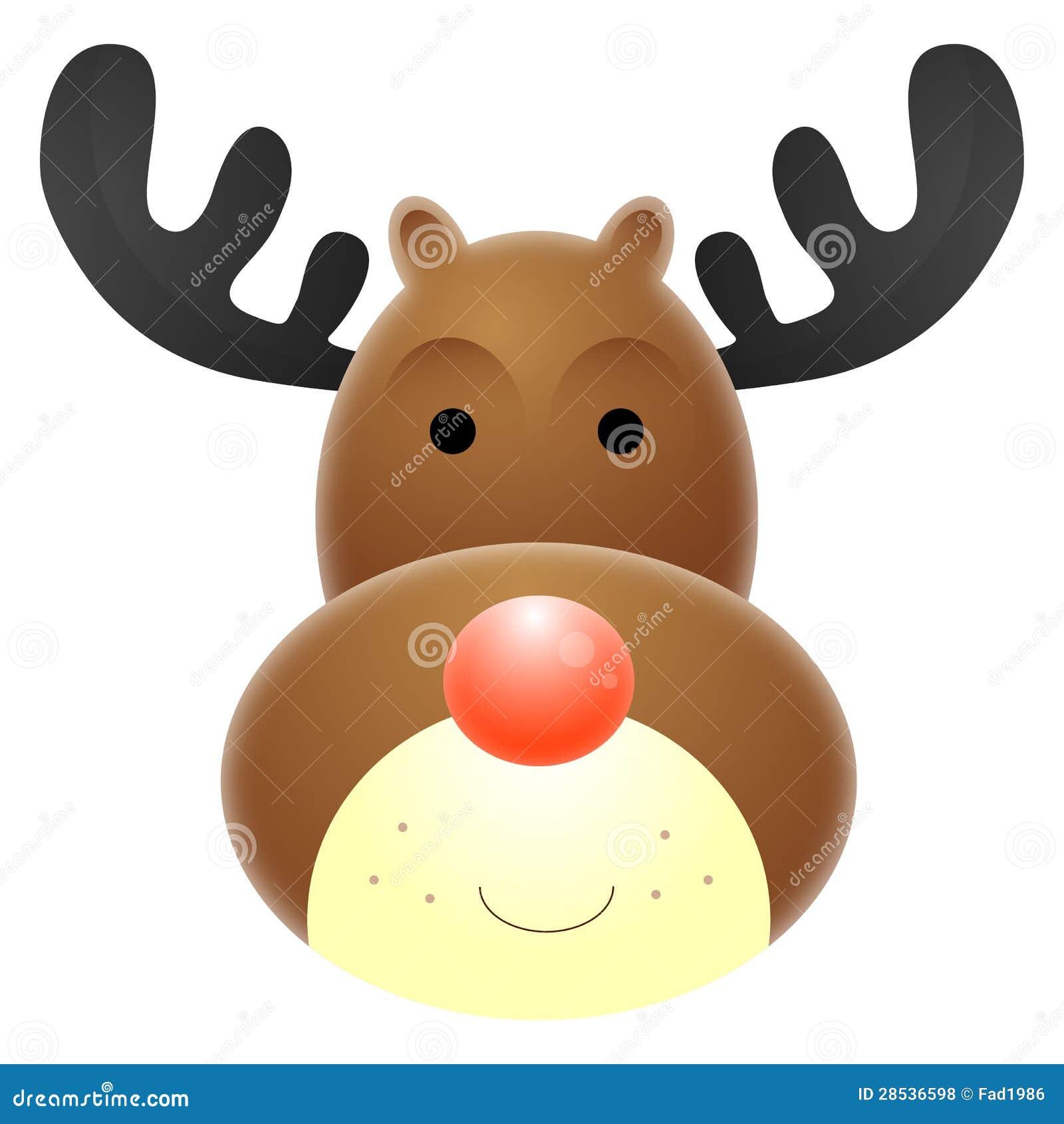 Reno sospechado rojo de Rudolph