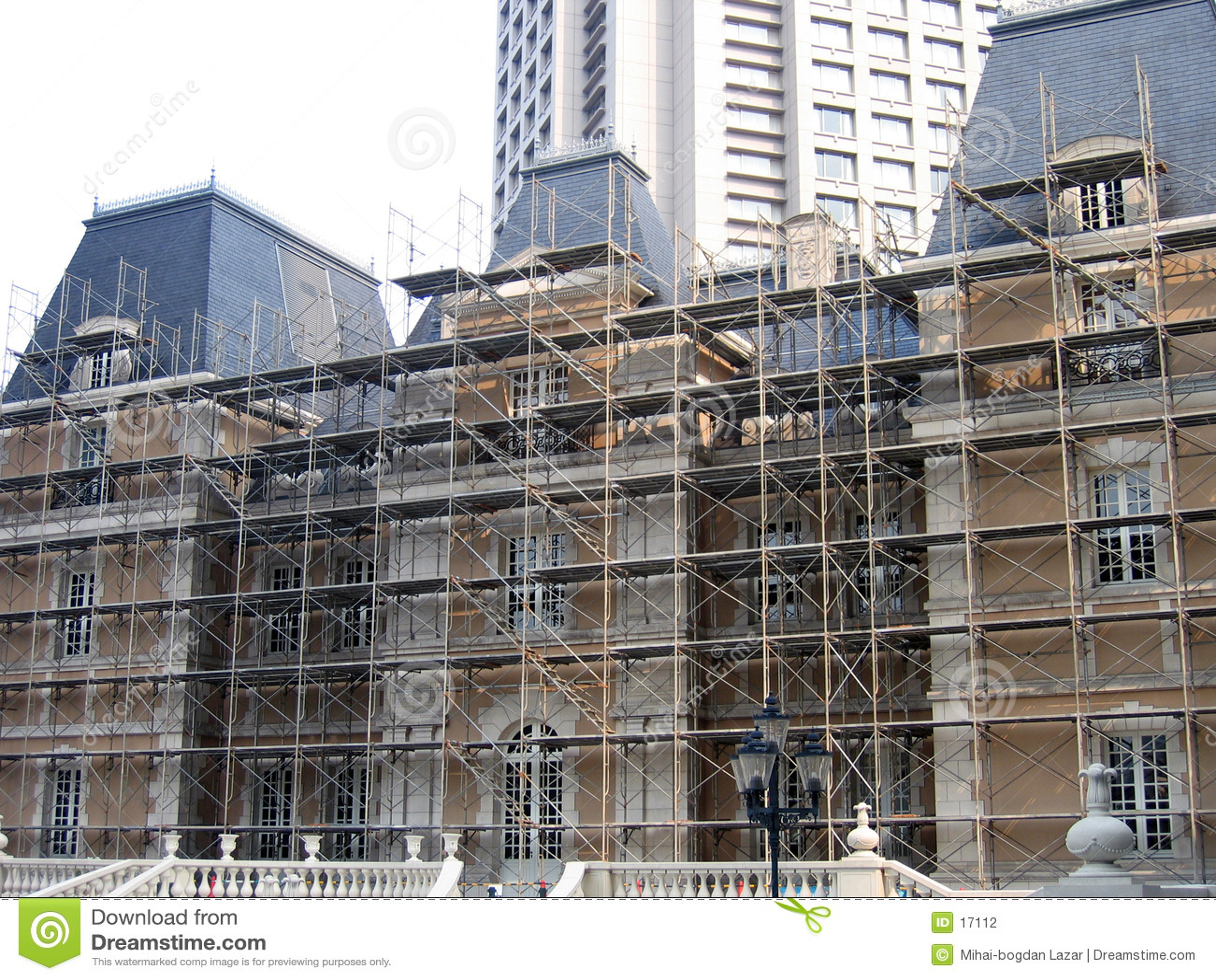 Renovating a historical building