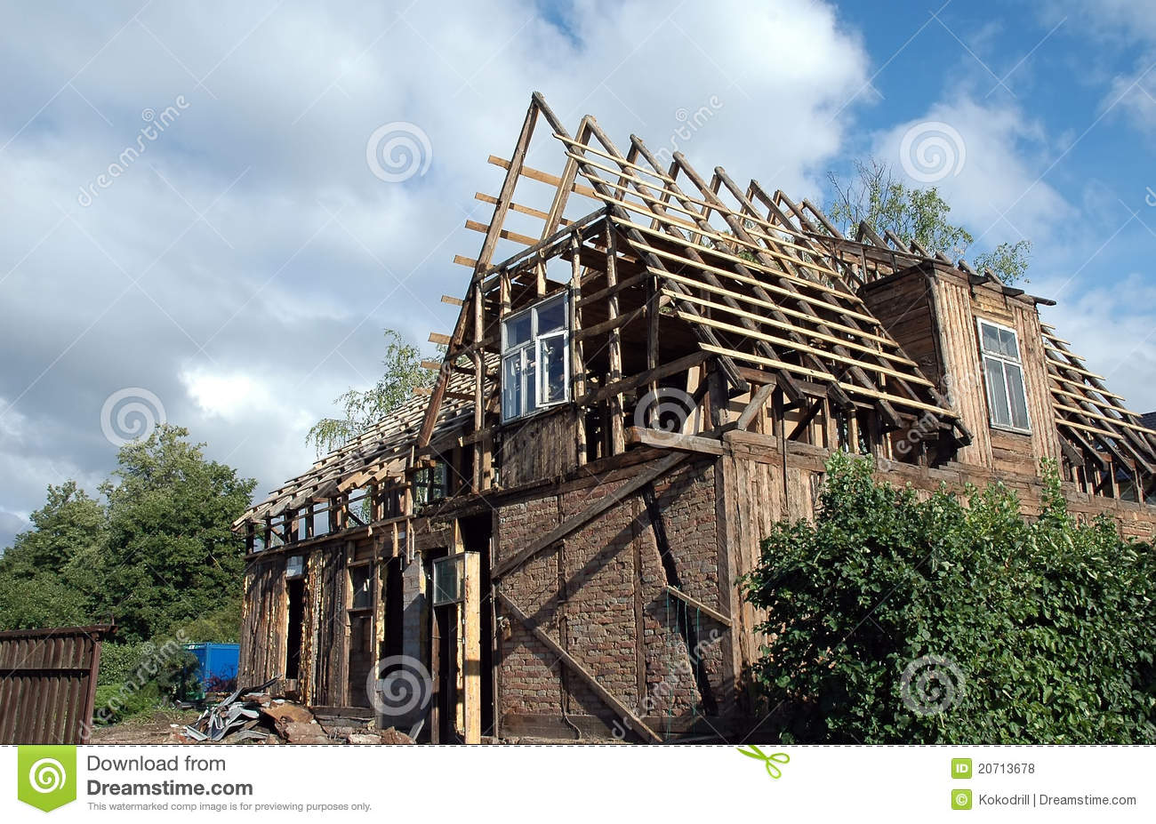 renovation old house royalty free stock photos image