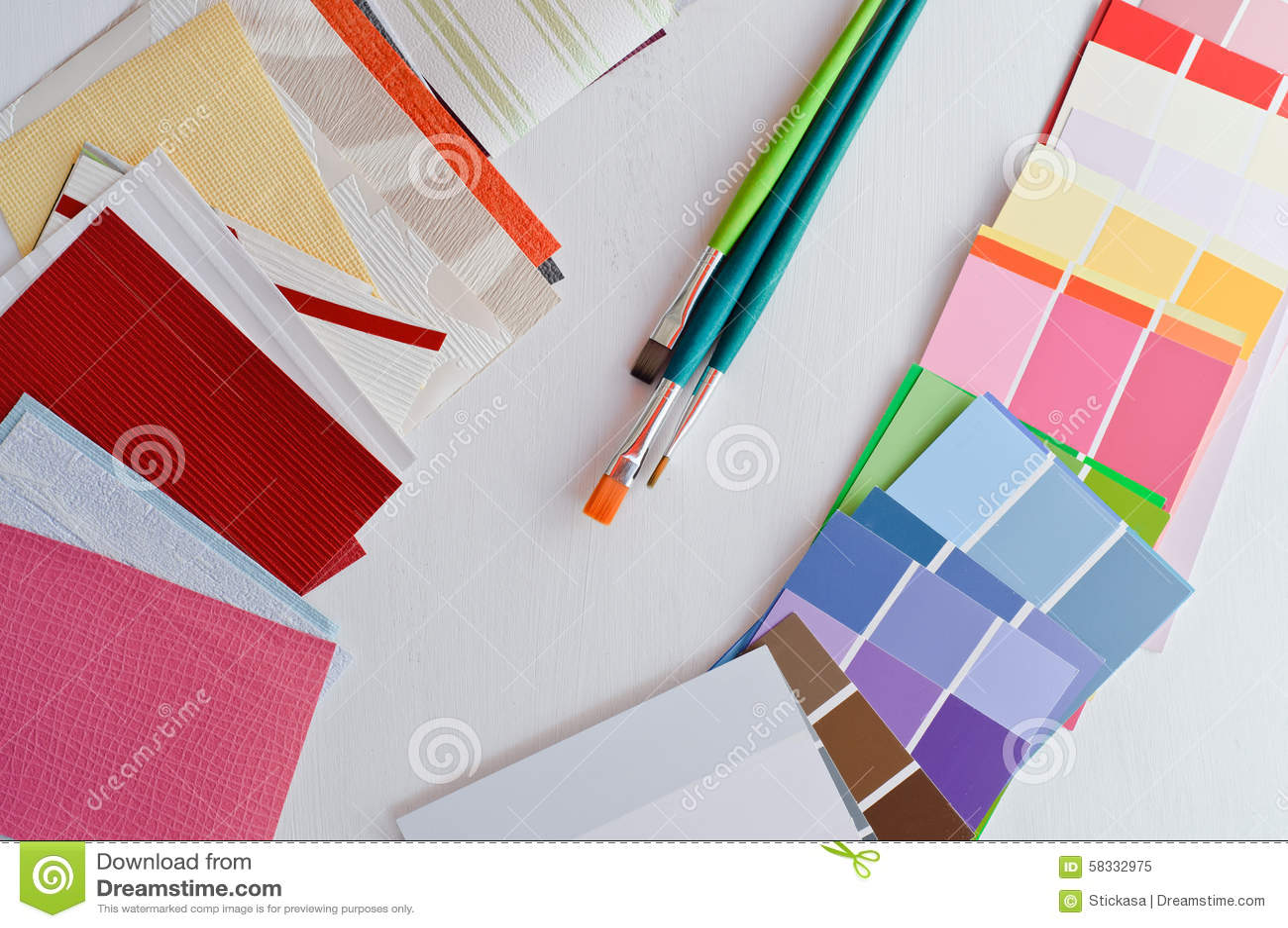 Renovation Sample Colors And Wallpaper