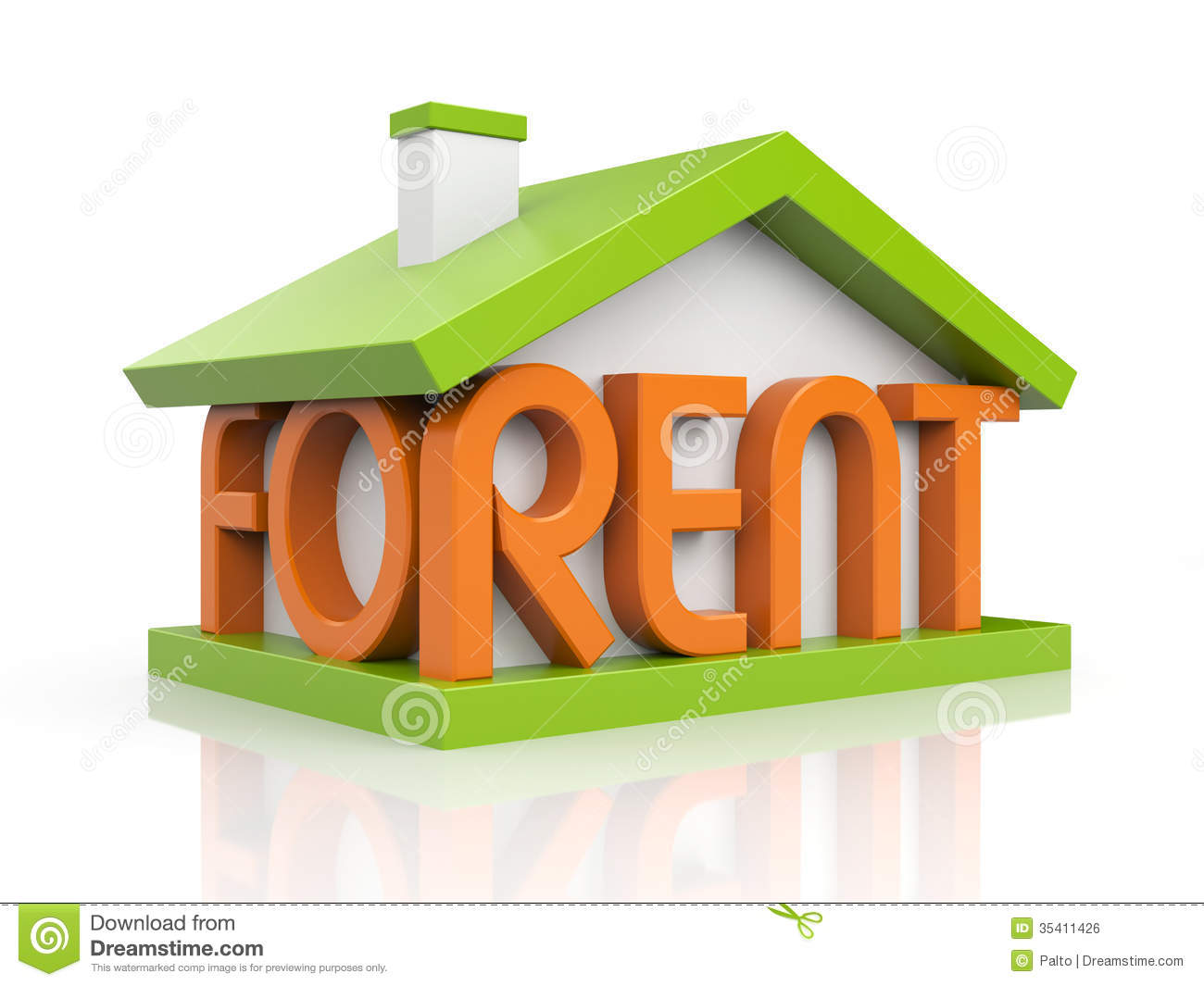 For Rent Royalty Free Stock Image Image 35411426