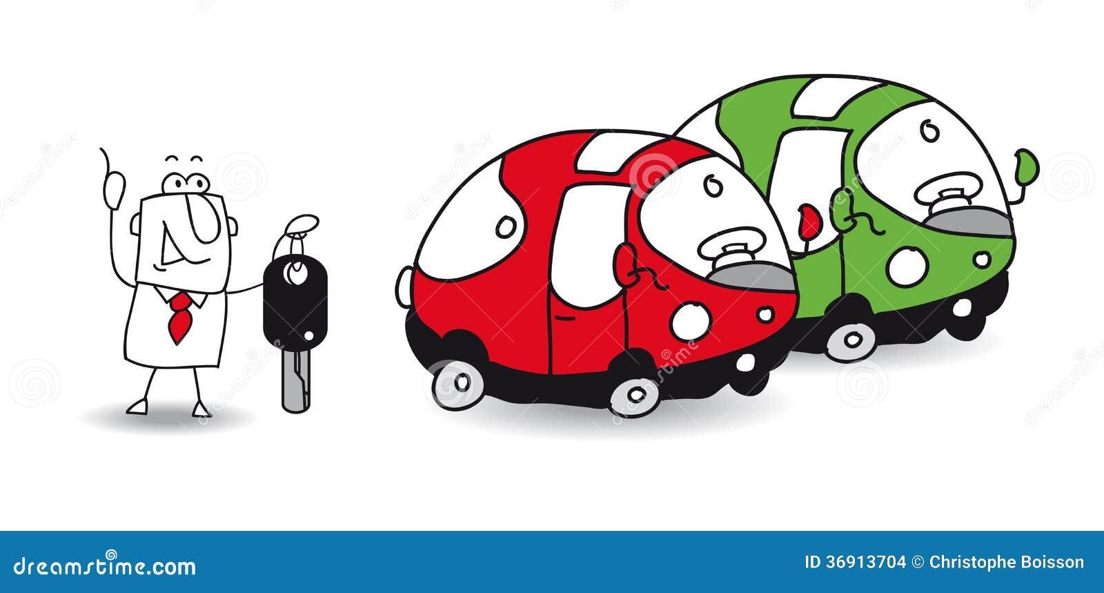 rent a car vector illustration 36913704. Black Bedroom Furniture Sets. Home Design Ideas