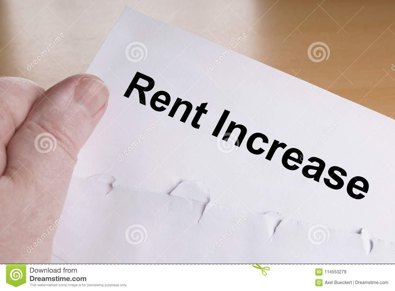 notification of rent increase