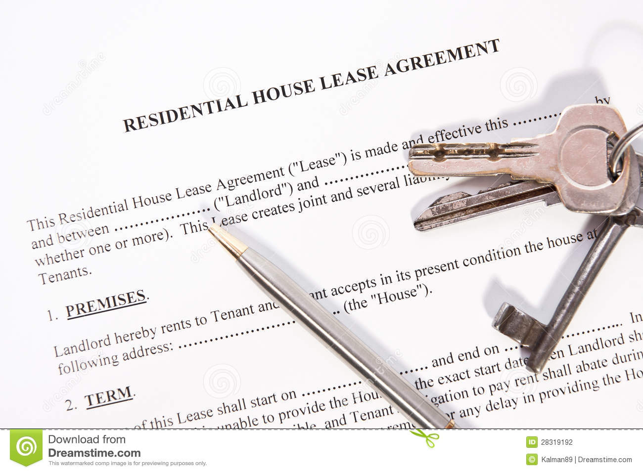 Thumbs Dreamstime Com Z Rental Lease Agreement 283
