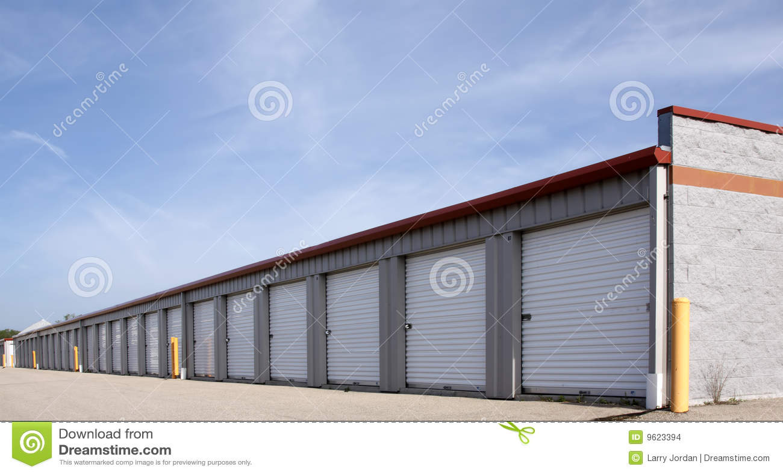 Rental Storage Units Stock Images Image 9623394