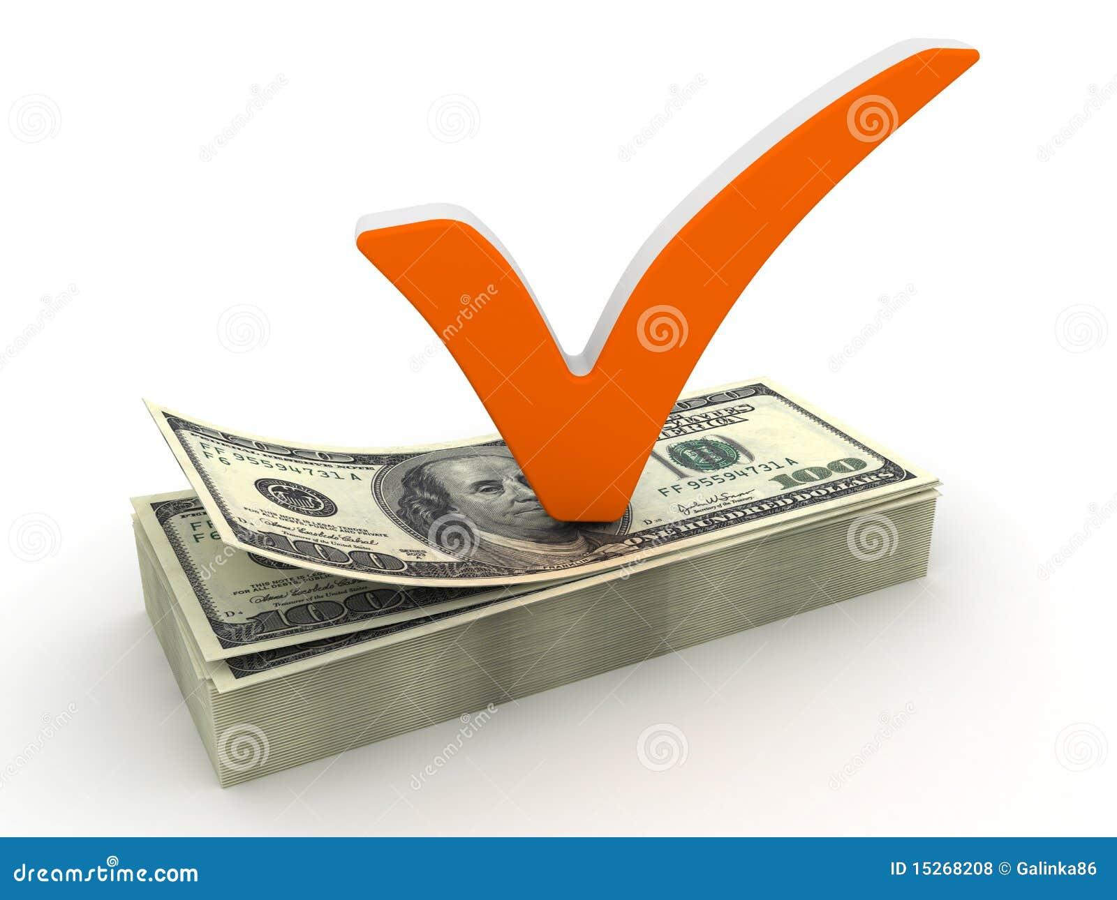 Repère et dollar de contrôle