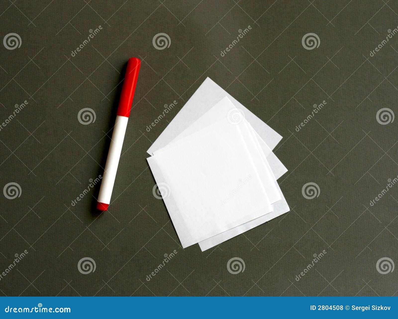 Repère et papier
