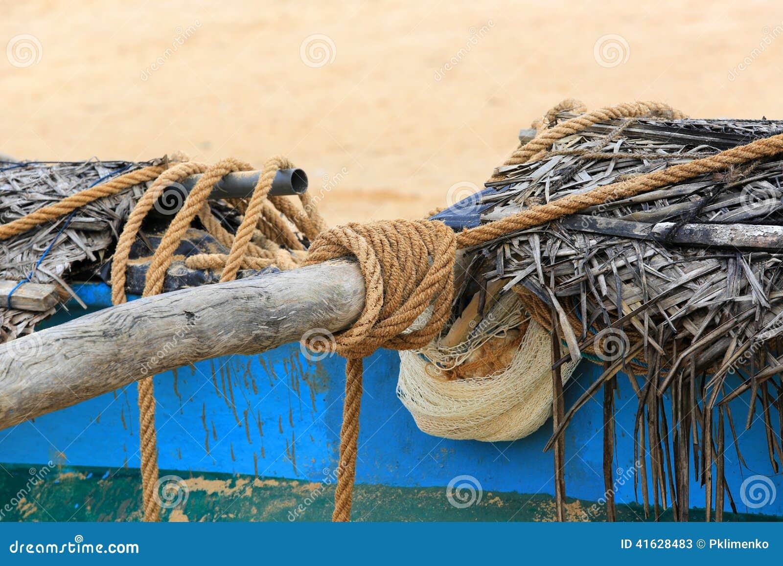 Rep på fiskeskeppet