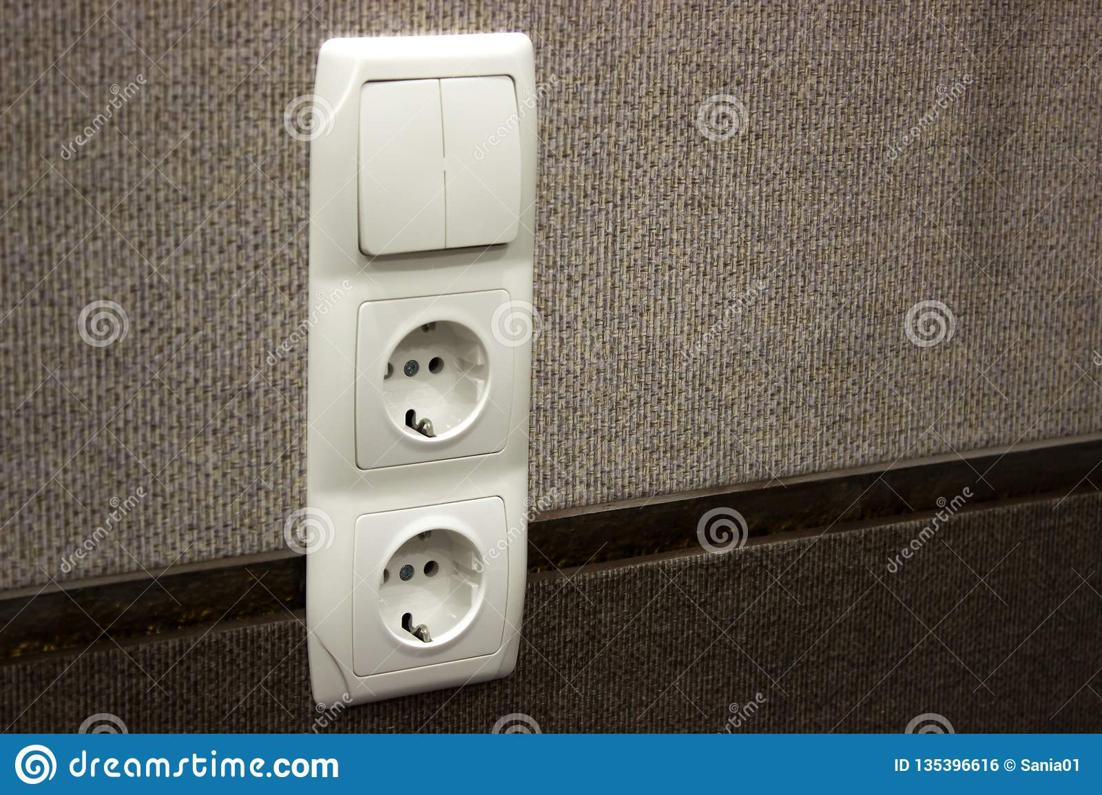 Repair, Installation Of Sockets In The Wall  Finishing Work