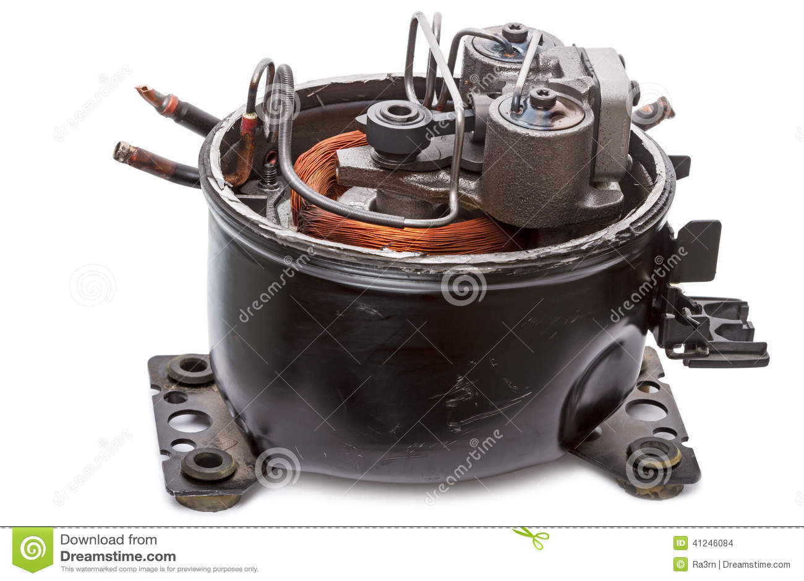 Repair refrigerator compressor stock photo image of for Max motor dreams cost