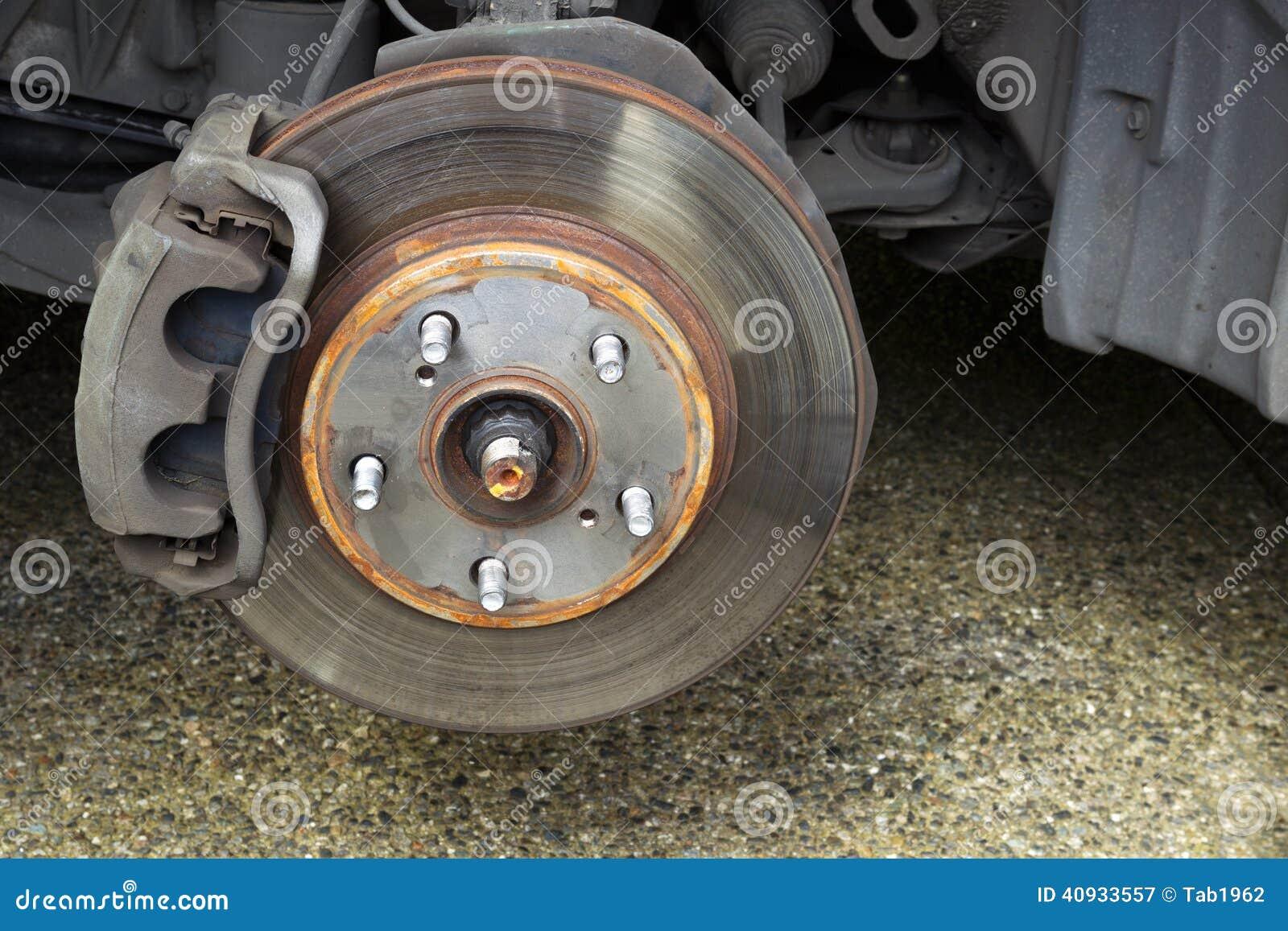 repairing brakes on car stock image image of service 40933557. Black Bedroom Furniture Sets. Home Design Ideas
