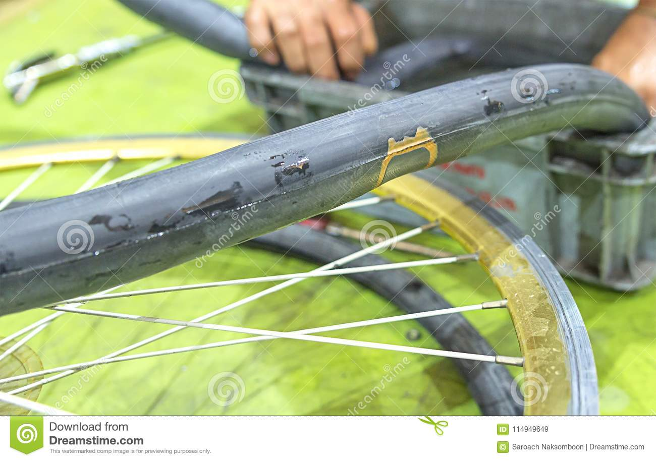 best way to patch inner tube