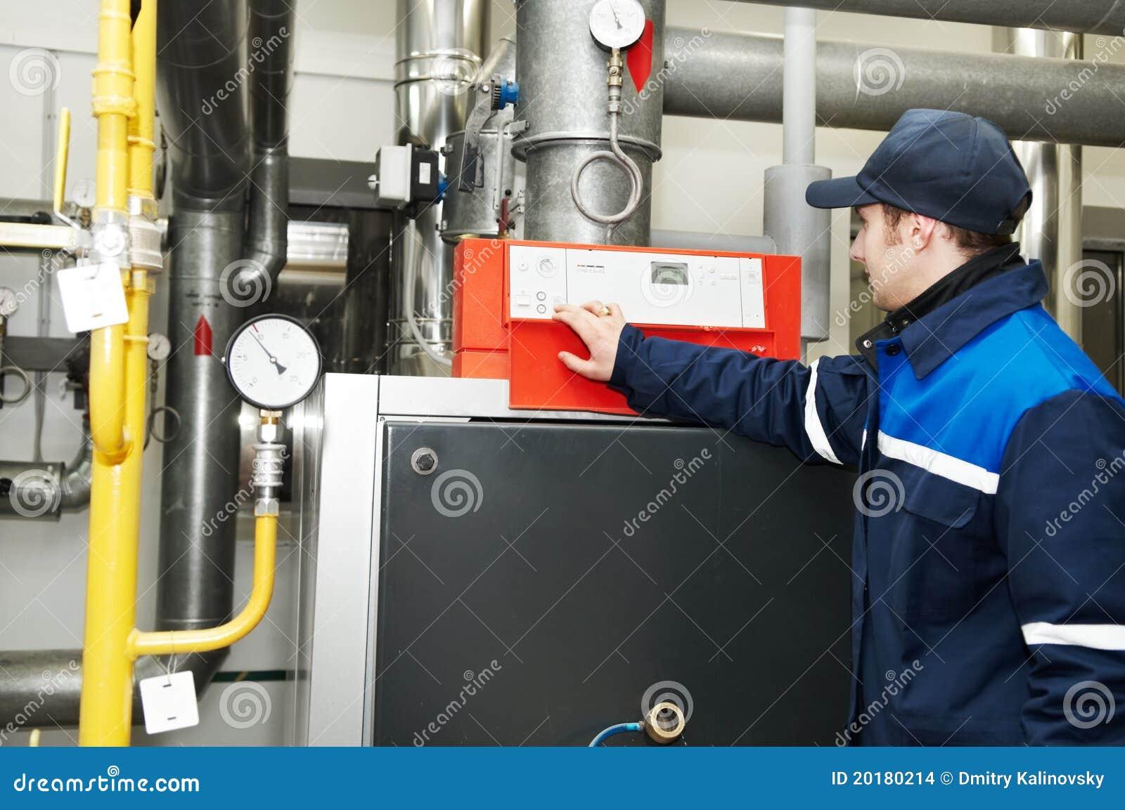 Repairman топления инженера