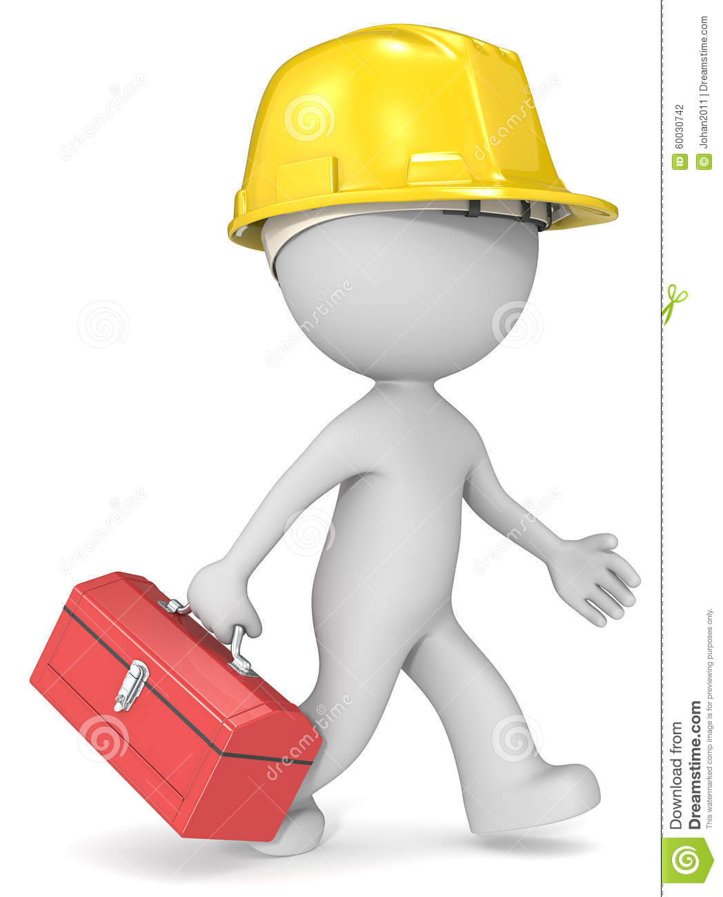 Repairman stock illustration image 60030742 for 3d setup builder