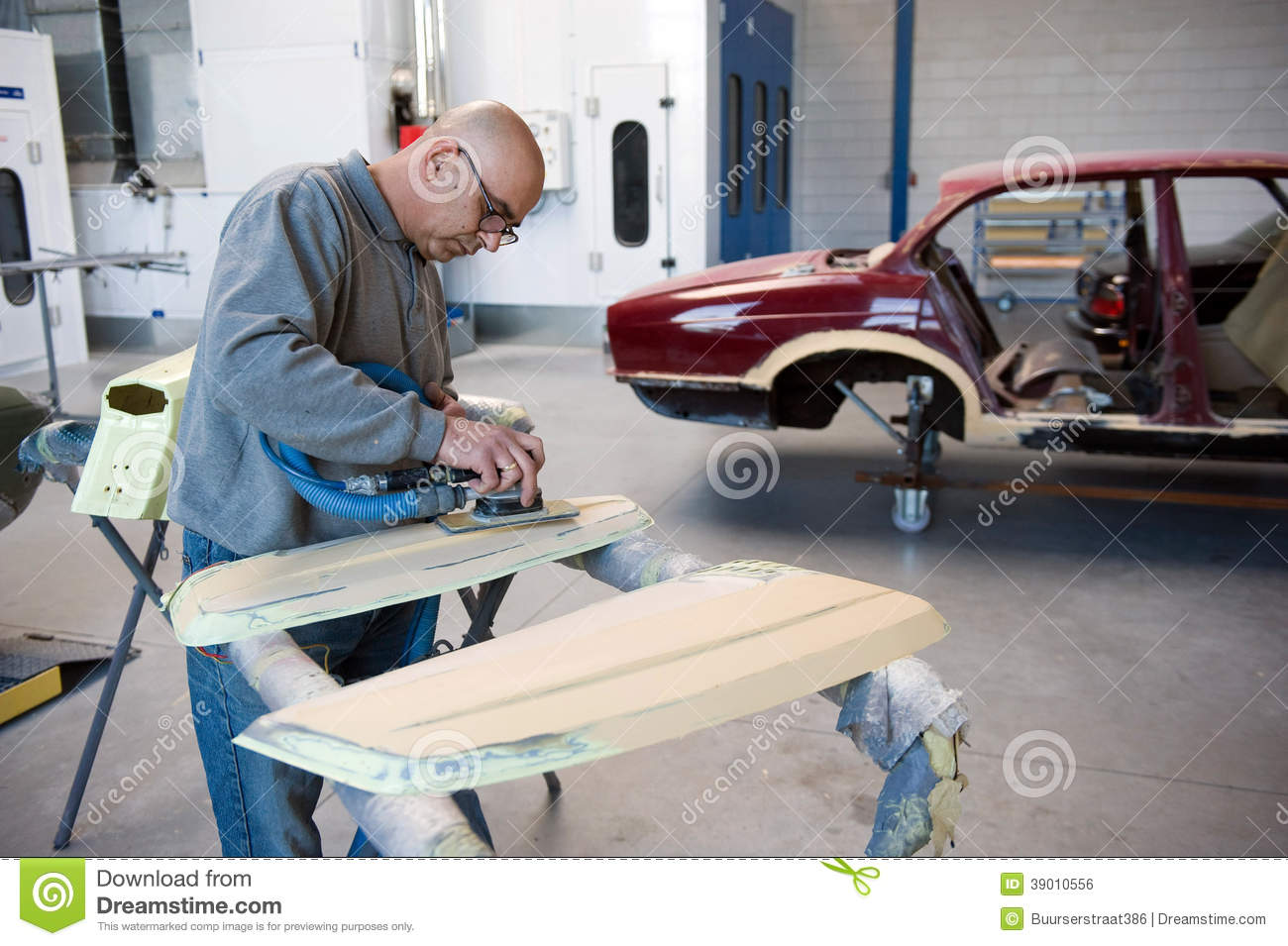 repairman at work stock photo image 39010556. Black Bedroom Furniture Sets. Home Design Ideas