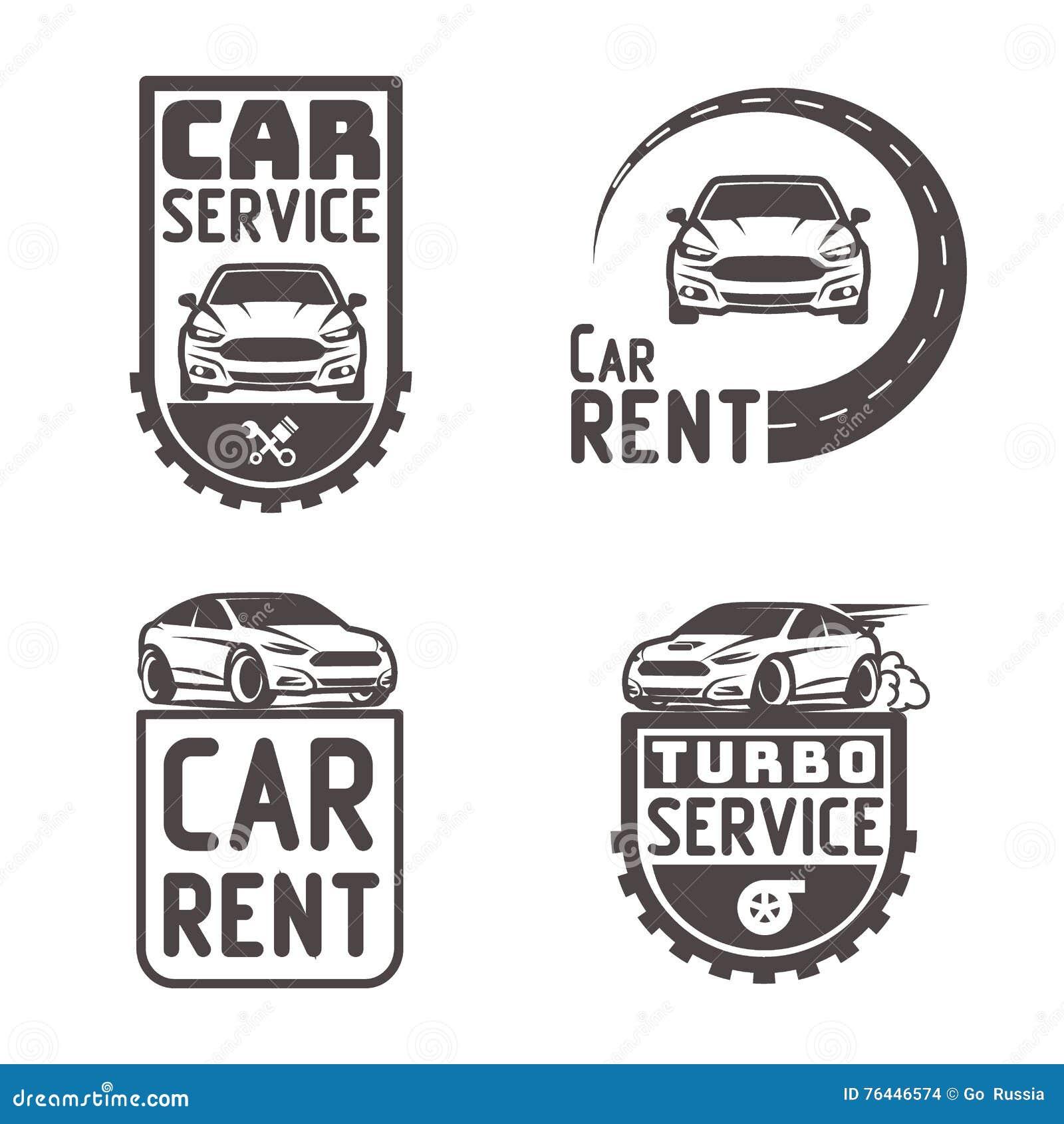 Reparación Automotriz Logo Template Design Vector Del Alquiler Del ...
