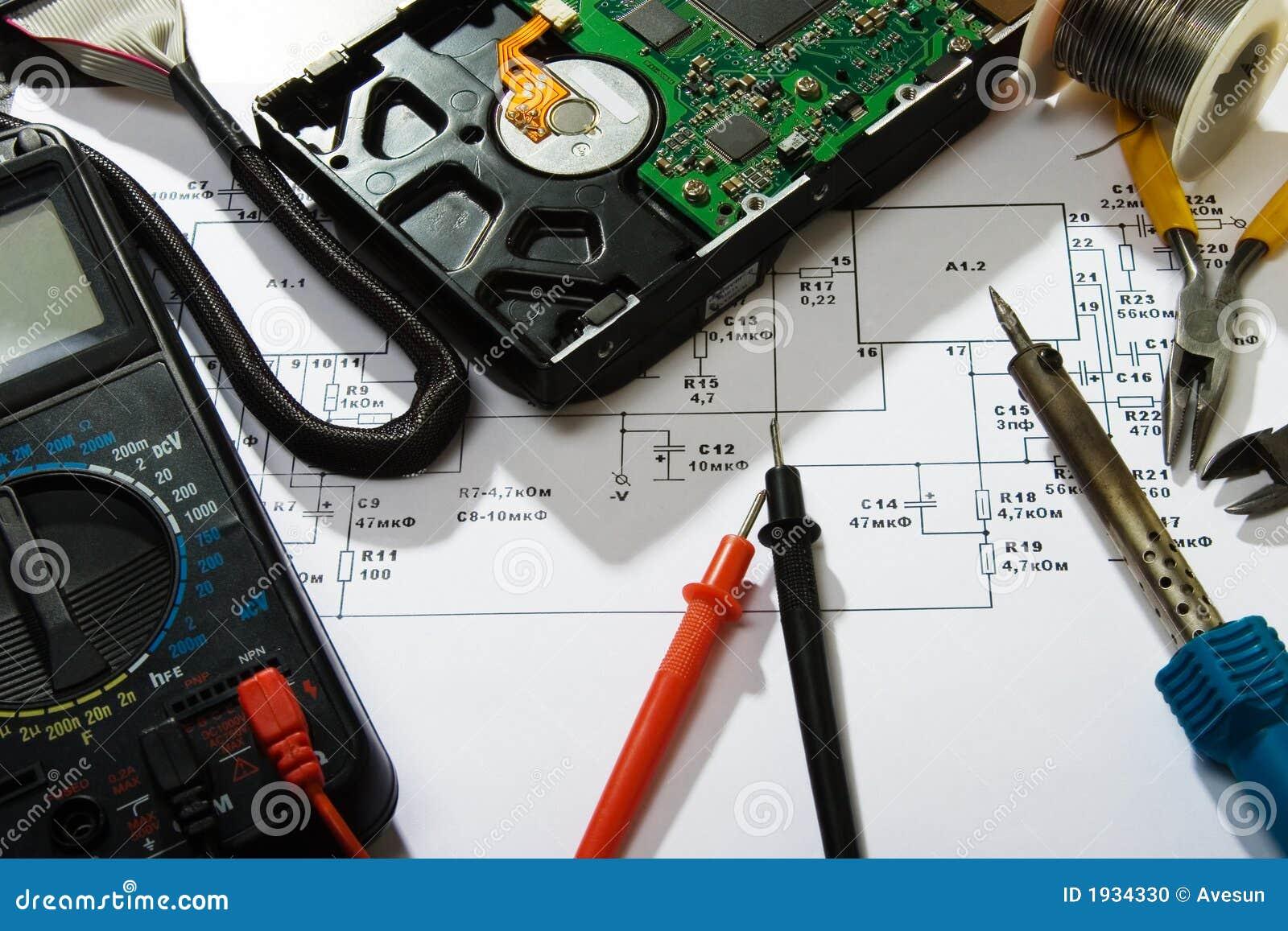 Reparación de la electrónica