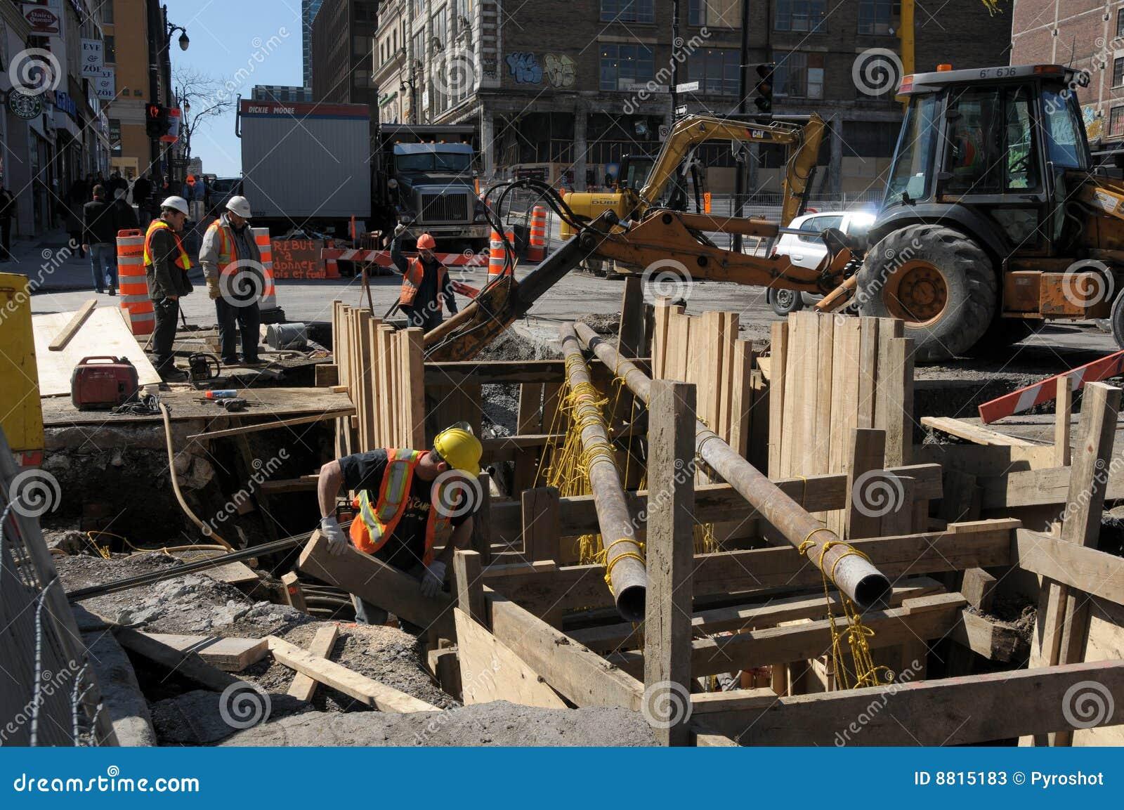 Reparaciones de la infraestructura