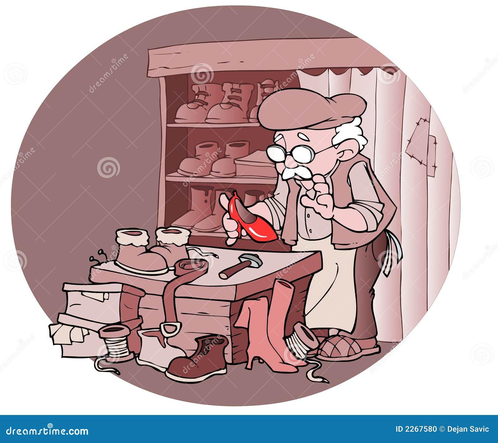 Reparador del zapato foto de archivo imagen 2267580 - Reparador de cristales ...