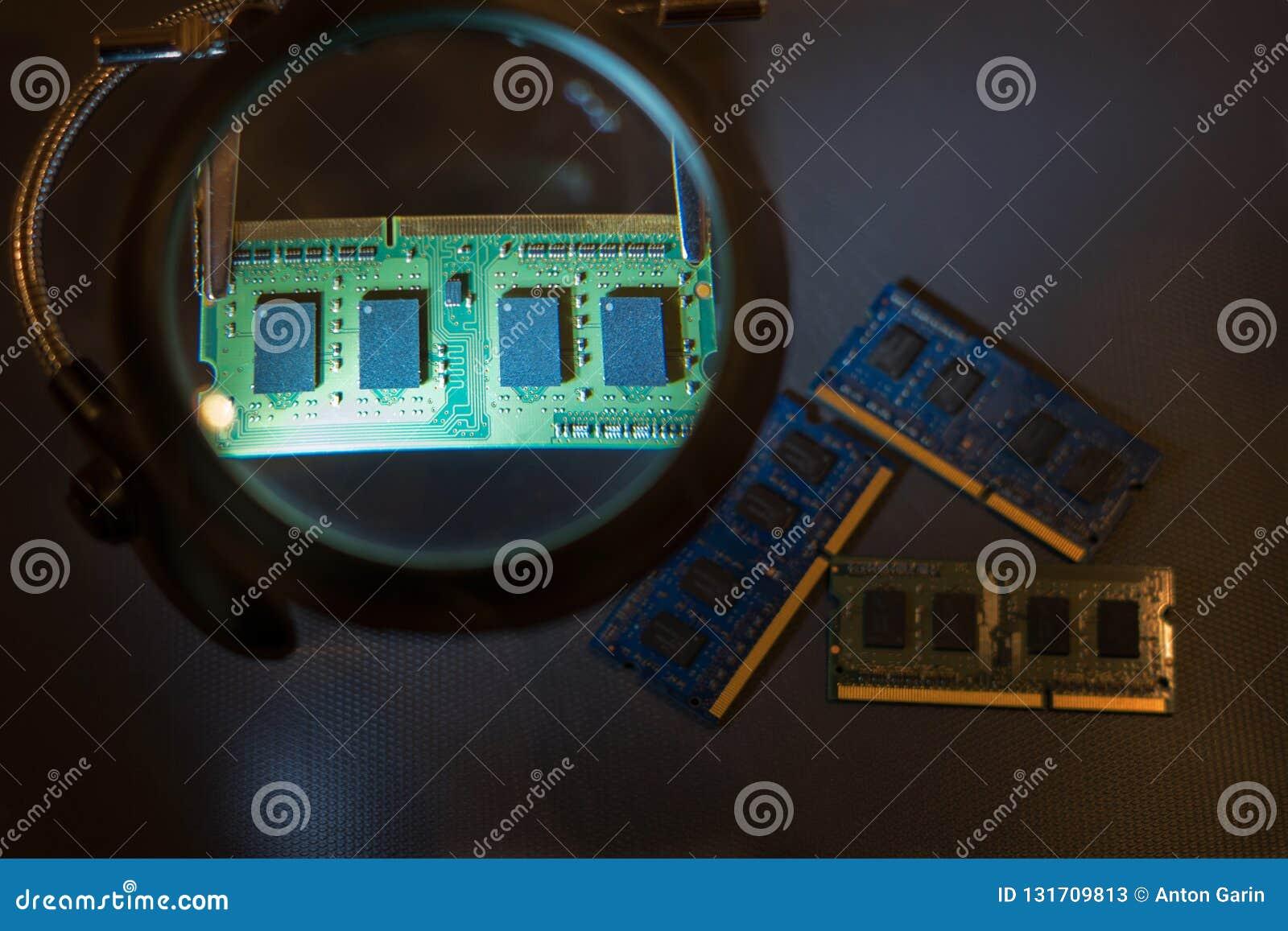 Reparatie van computercomponenten