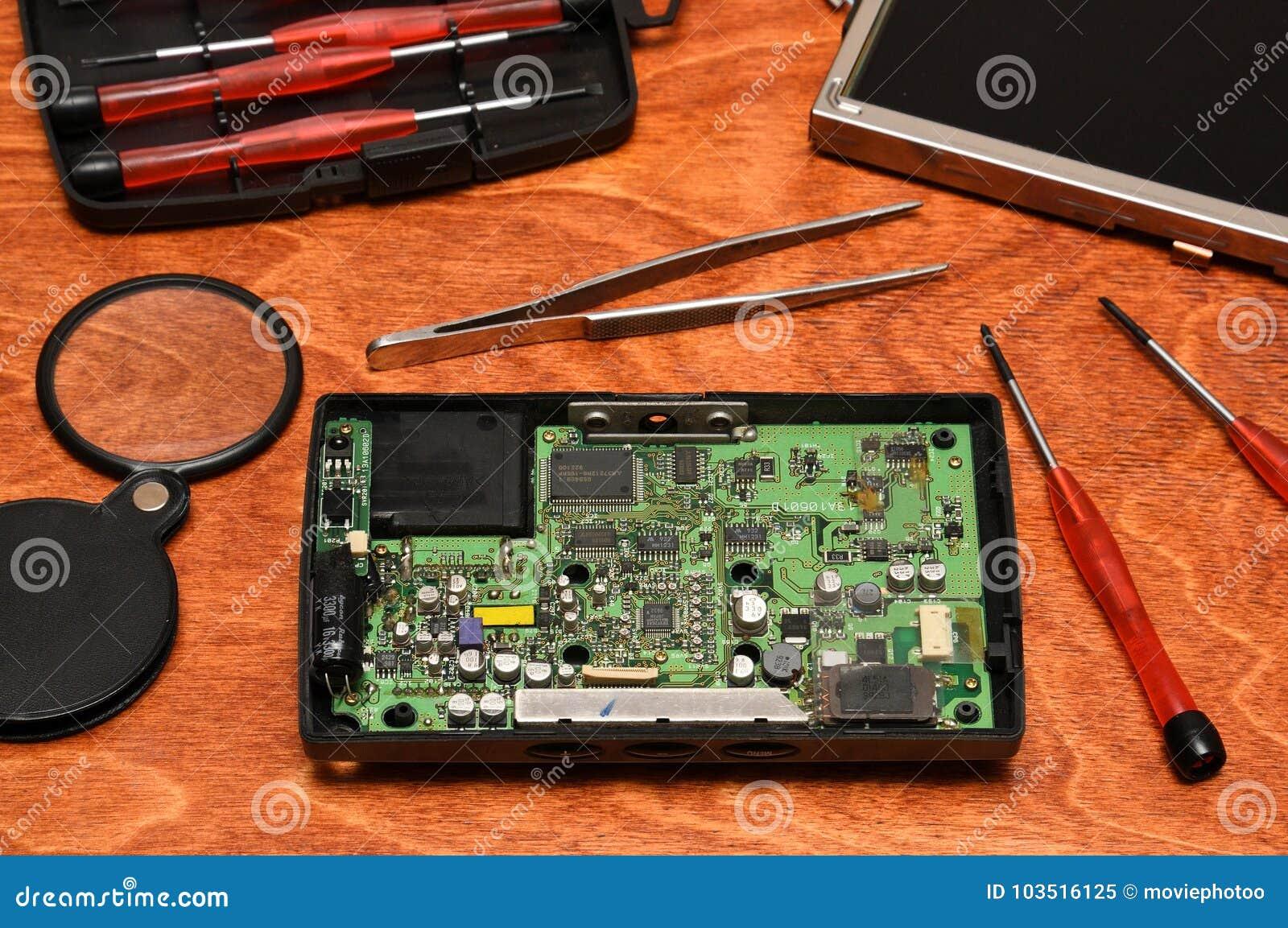 Reparatie van elecronics, smartphones, tabletten en computers