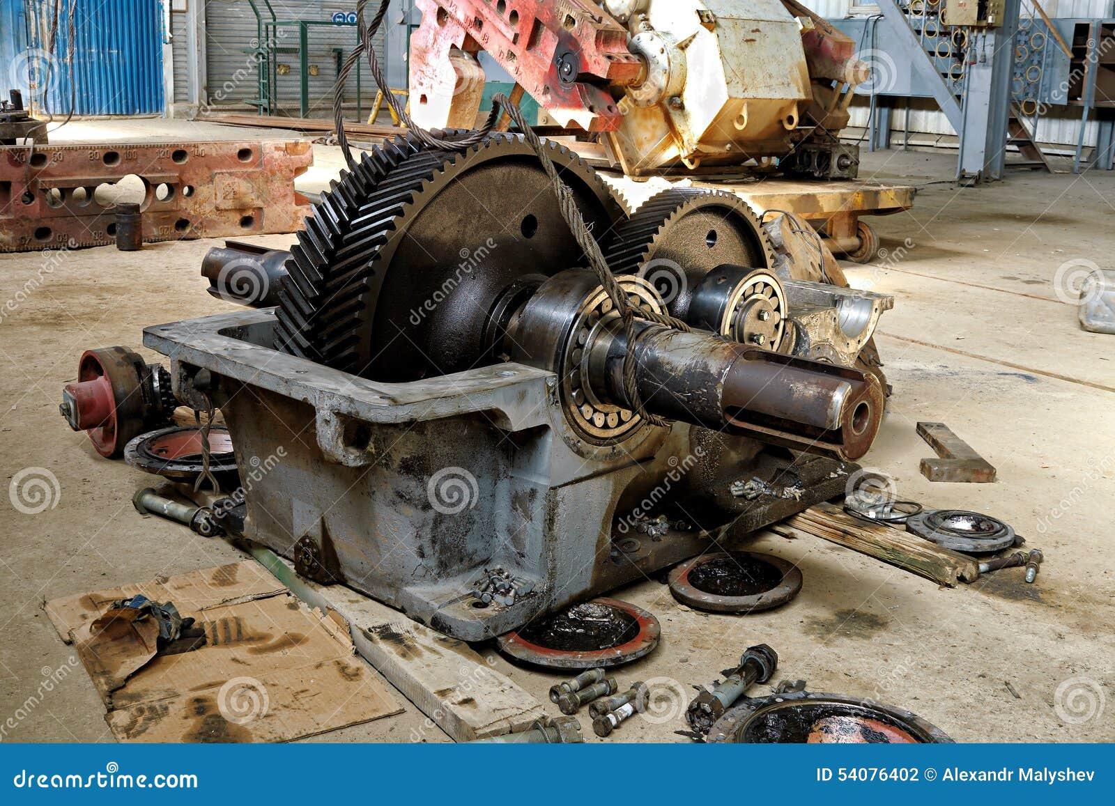 Reparatie van oliemateriaal