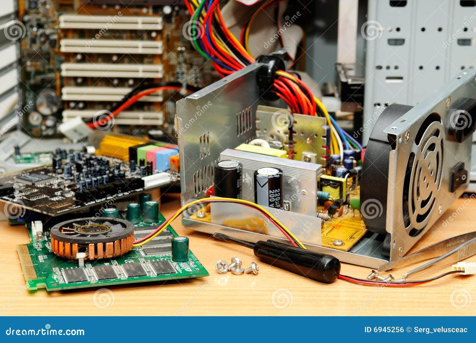 Reparatur eines Computers