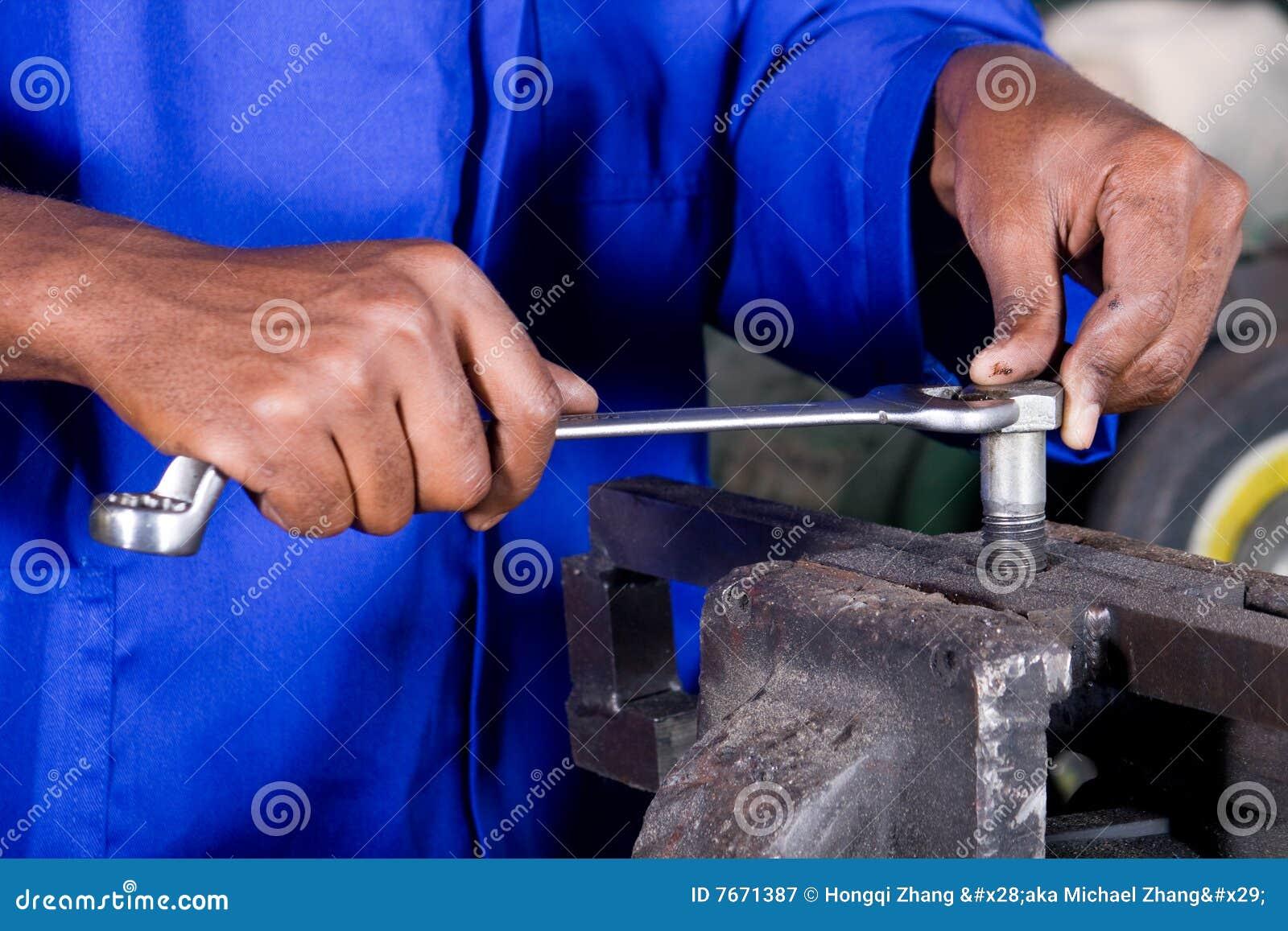 Repare el trabajo