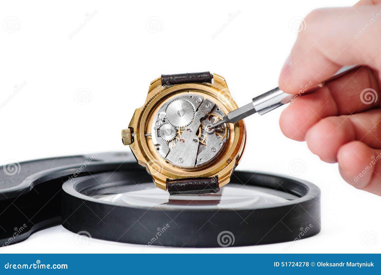 Reparera klockamakro