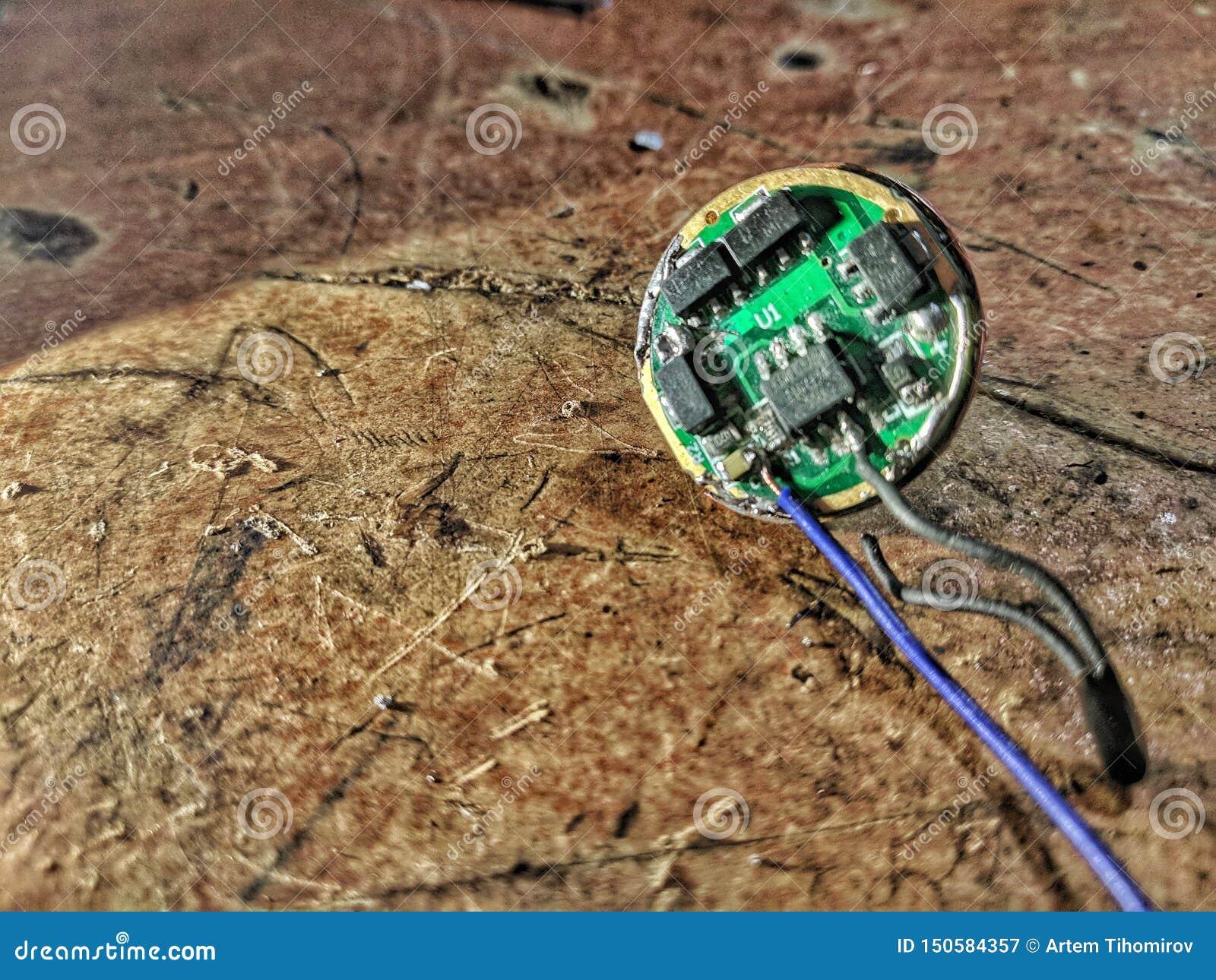 Reparo do motorista do diodo emissor de luz