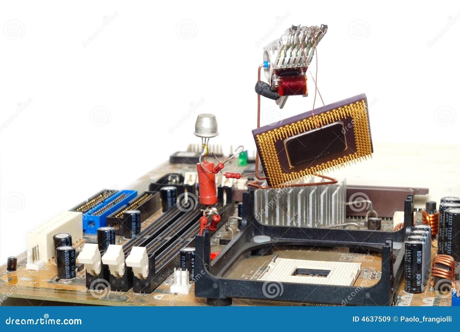 Reparo ou melhoramento do computador