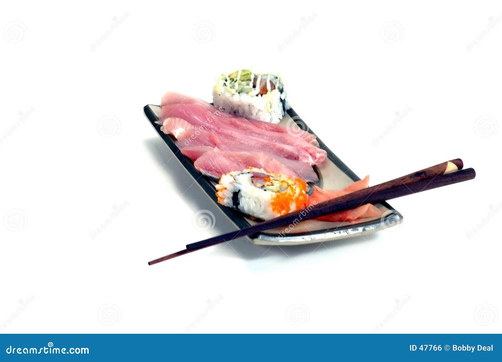 Repas 2 de sashimi