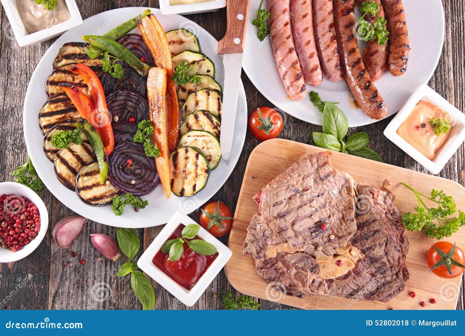 barbecue repas