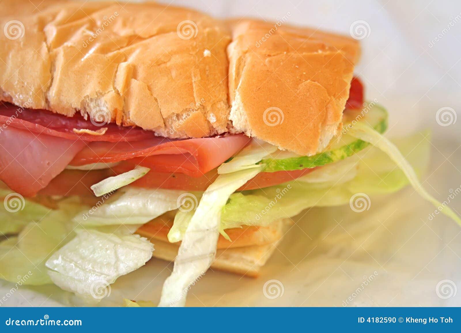 Repas de sandwich à souterrain