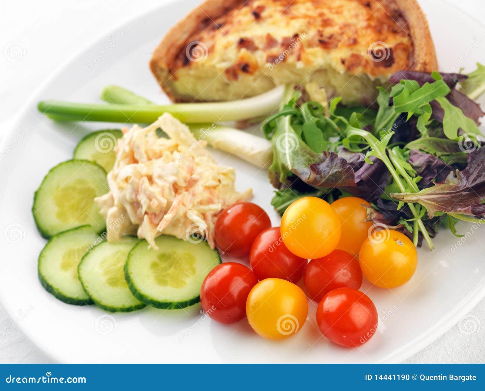 repas sain de salade photo stock image du repas casse 14441190. Black Bedroom Furniture Sets. Home Design Ideas