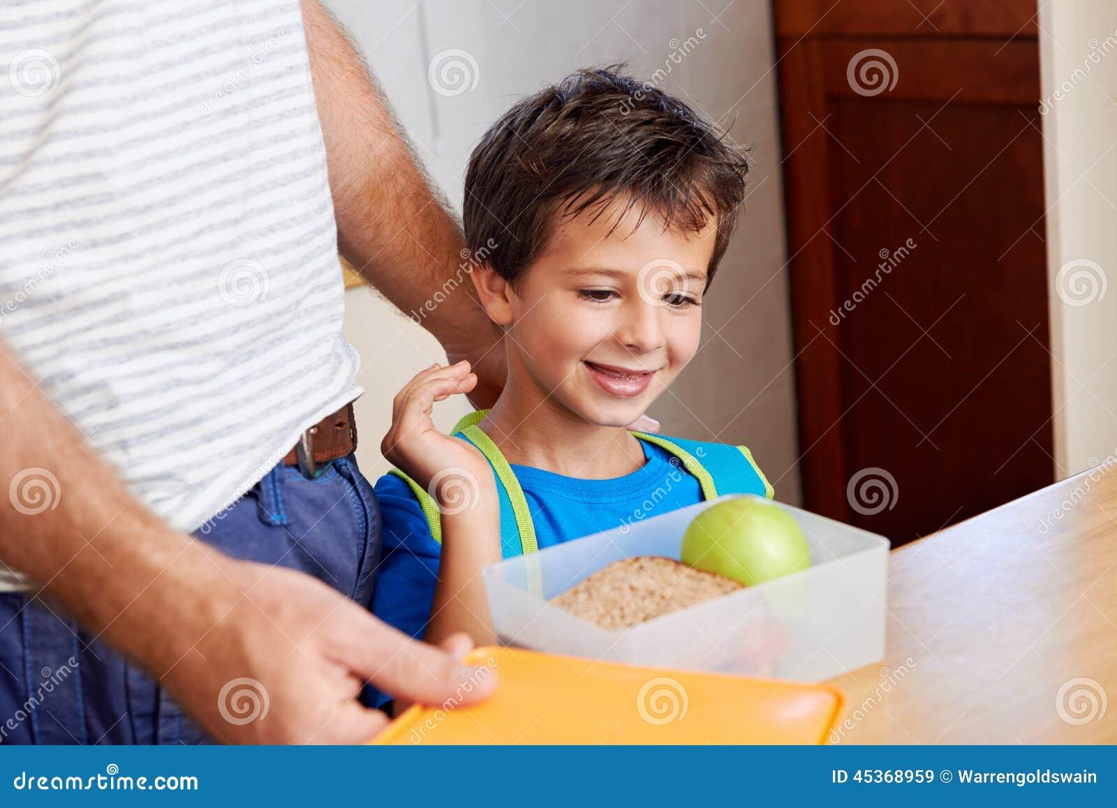 Repas scolaire sain