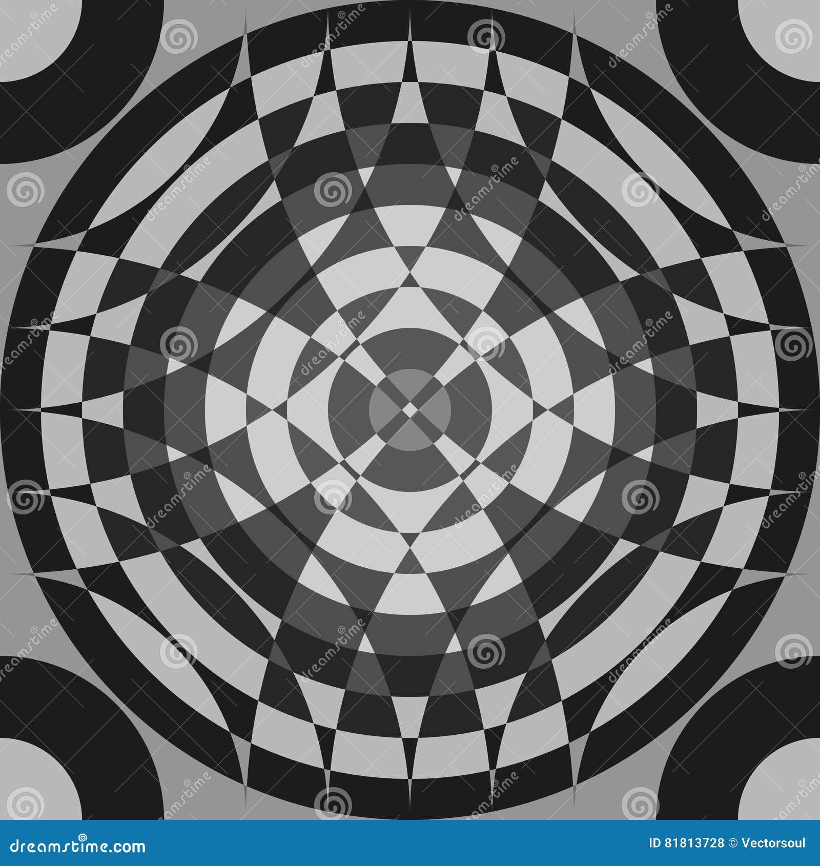 Repeatable поделенная на сегменты картина серой шкалы Monochrome абстрактный текст