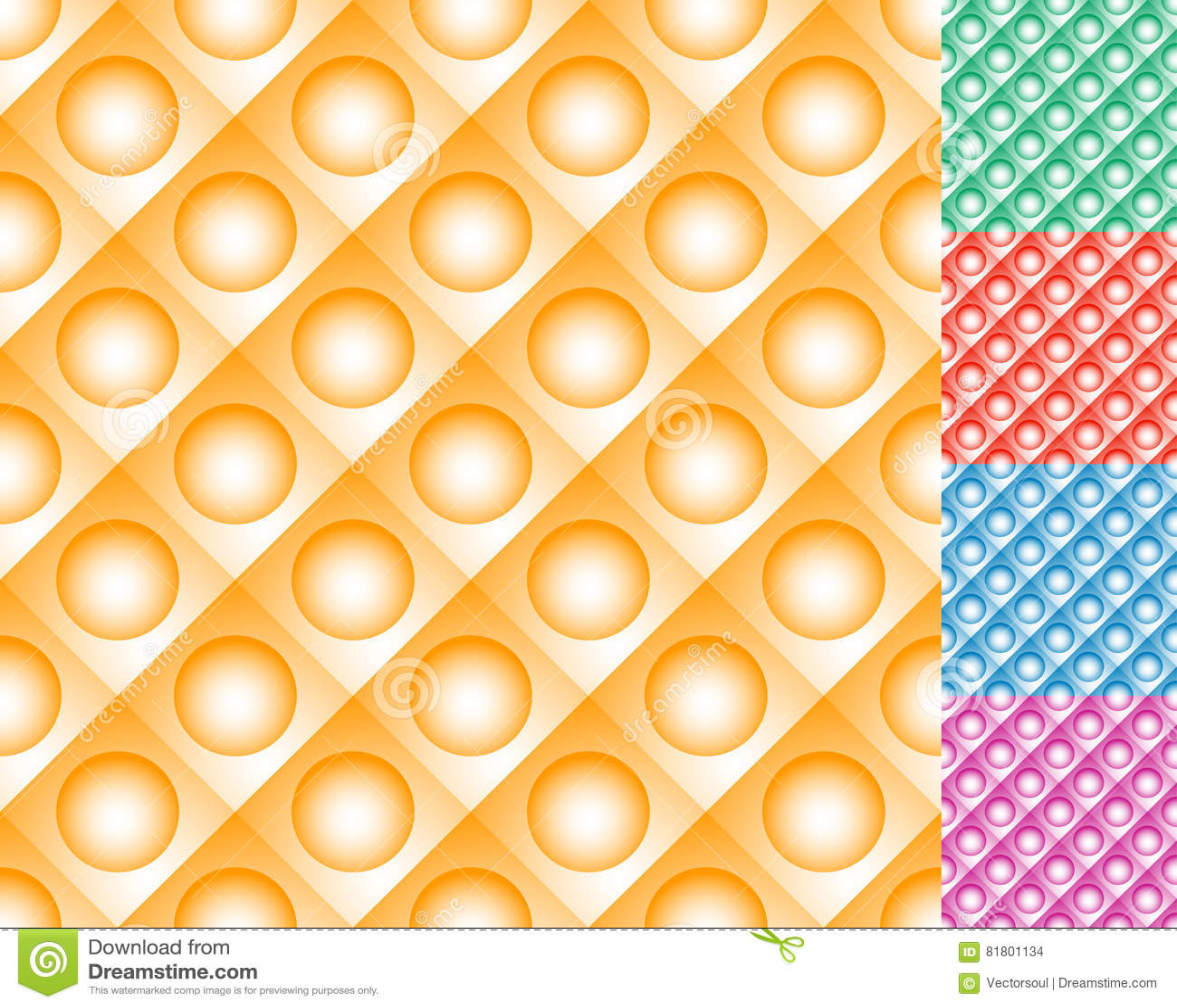 Repeatable плитки картины с кругом над квадратом