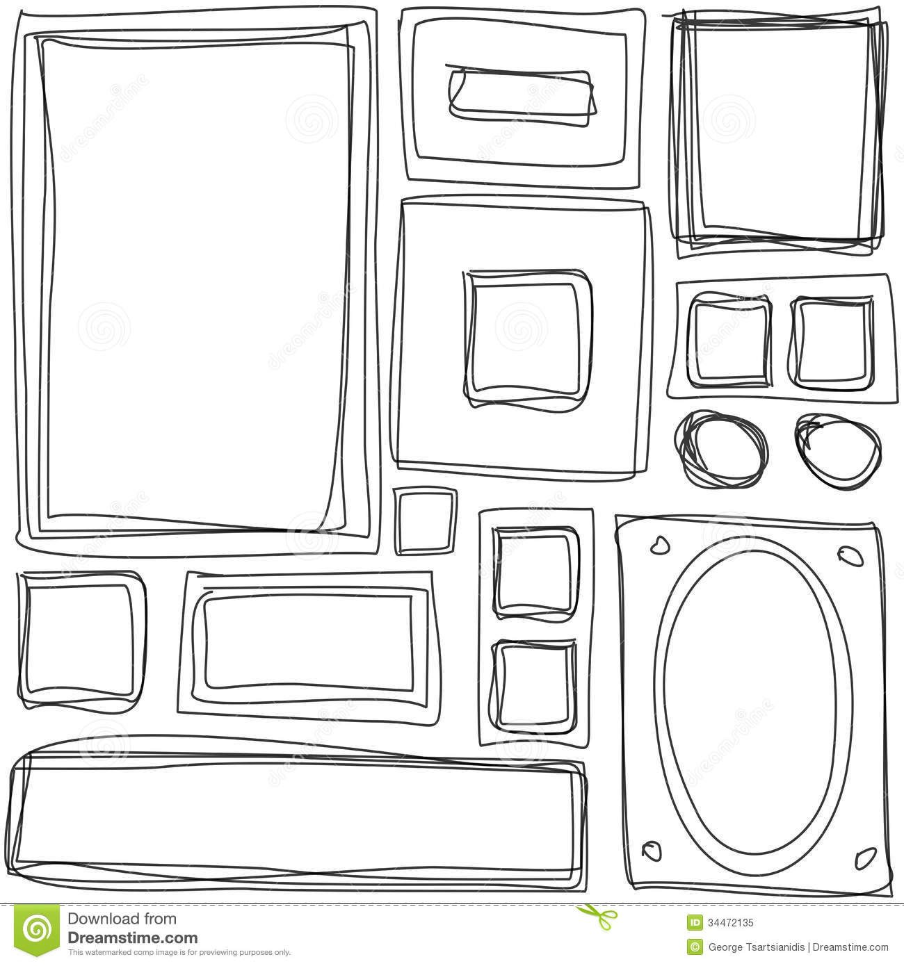 Clipart Rectangle Objects