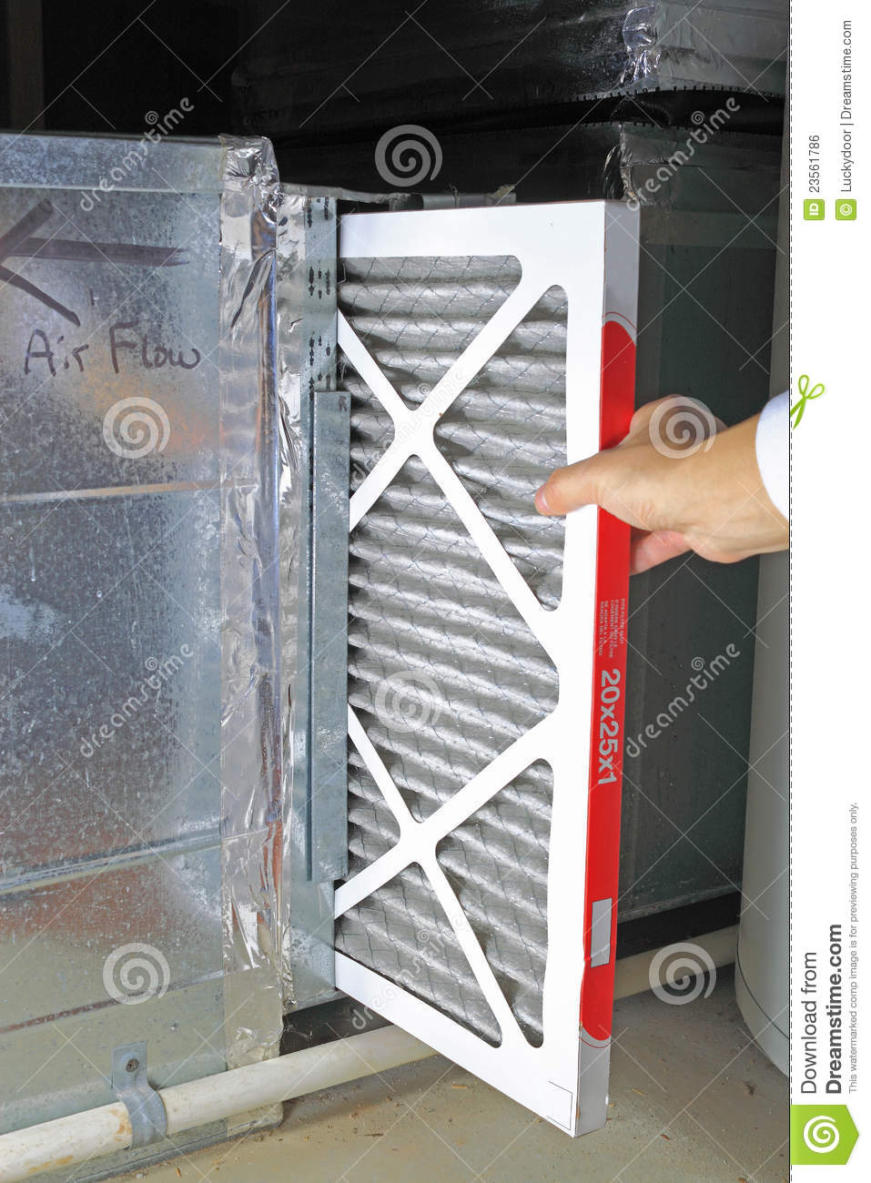 Replace Air Filter Stock Photo Image Of Clean Health