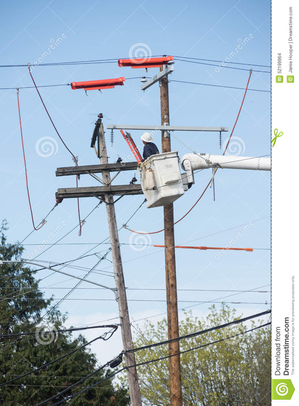 Replacing the Power Pole