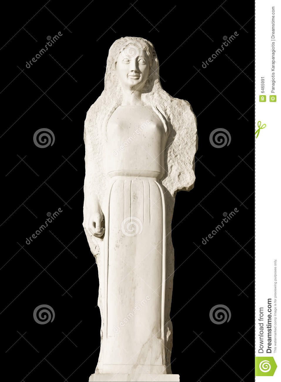 Replica of an ancient statue